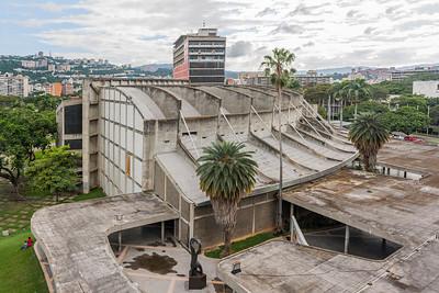 12 AULA MAGNA, CIUDAD UNIVERSITARIA DE CARACAS.  Carlos Raúl Villanueva, 1952–1953