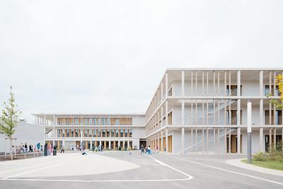 02 Grundschule in modularer Bauweise. wulf architekten
