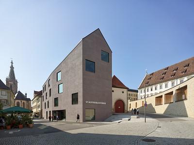 13 Stadtbibliothek Rottenburg. harris + kurrle architekten