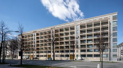 20 Wohnen an der Prinzregentenstraße. HILD UND K