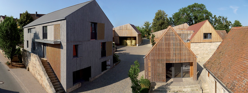 15 Wiederaufbau Hofstelle Stiegler. DÜRSCHINGER ARCHITEKTEN