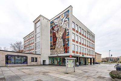 """10 Textilkaufhaus """"Magnet"""" (heute: Lindenzentrum), Otto Lopp, Otto Schnabel - 1960"""