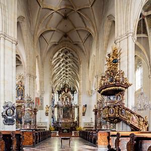 03 Dom St.Ägydius. Hans Niesenberger (?), Domenico dell'Aglio, Gregor Pacher, Karl Raimund Lorenz; 1462, 1554, 1653, 1687, 1831, 1963
