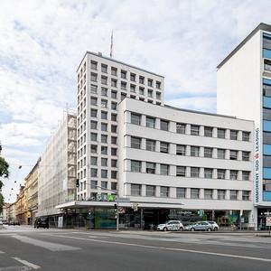 04 Holding Graz (ehem. Verwaltungsgebäude der Stadtwerke). Rambald von Steinbüchel-Rheinwall; 1935