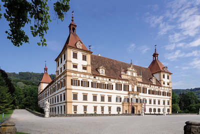 08 Schloss Eggenberg. Giovanni Pietro de Pomis (?), Joseph Hueber, Franz Matern; 1470, 1635, 1673, 1758, 1764, 1836