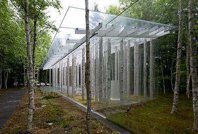 06 Birch Moss Chapel. Kengo Kuma