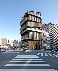 07 Asakusa Visitors Center, Tokyo. Kengo Kuma