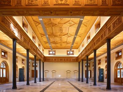 10 Stor-Palast. Wazir Akbar Khan Road, Malik Asghar Square, Abdur Rahman Khan ∕  Aga Khan Historic Cities Programme, 1905 ∕ 2016 (Restaurierung)
