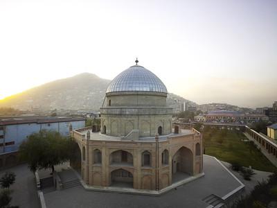 08 Timur-Shah-Mausoleum. Timur Shah Road, Zaman Shah Durrani ∕ AKTC, 1817 ∕ 2012 (Restaurierung)