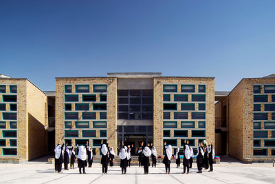05 Mädchenschule Gohar Khatoon (auch Gawhar Khaton), PD#4, Mazar-e Sharif. Robert Hull (FAIA) und University of Washington, Department of Architecture, 2015