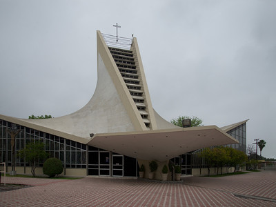 05 Parroquia de San José Obrero. Enrique de la Mora, Félix Candela, 1959