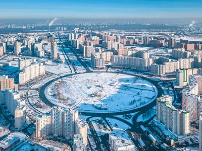 01 Wohnbezirk Nekrasowka, seit 2010 im Bau
