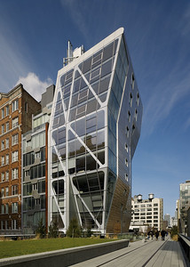 01 HL23, as seen from the High Line. Neil Denari Architects with Marc Rosenbaum Architects, 2012