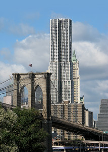 03 New York by Gehry (originally known as Beekman Tower). Frank Gehry, 2011