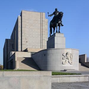 03 Nationale Gedenkstätte Vítkov und Militärmuseum.  Jan Zázvorka, Jan Gillar, 1926–1933