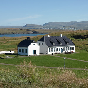 09 Wohnhaus und Kirche in Viðey. Nicolai Eigtved∕Georg David Anthon 1755 (Wohnhaus)∕1774 (Kirche)