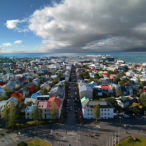 01 Blick auf Reykjavik