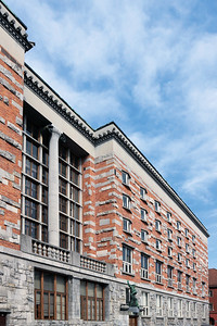 10 Die National- und Universitätsbibliothek in Ljubljana gilt als Plečniks Meisterbau.