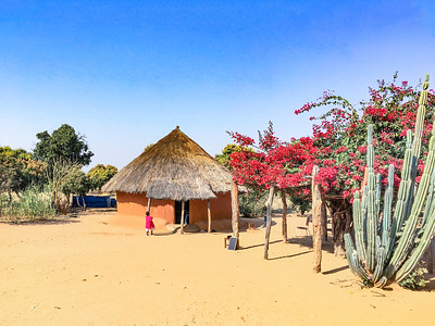 "05 Dorf in Simbabwe | Village in Zimbabwe.  Über den Umgang mit indigener Architektur im südlichen Afrika berichtet der junge Architekt Anotidaishe Mavazhe: ""Ich wurde von meiner Großmutter mit der Aufgabe betraut, ihre Hütte neu zu gestalten. Das Haus befindet sich an einem abgelegenen Ort weit weg von der Stadt in einem kleinen Dorf. Weil diese Lehmhütten kulturell so symbolisch sind, wurden sie bis heute nie zerstört. Ich schlug meiner Großmutter vor, das Dach zu ersetzen. Strohdächer haben traditionell viele Vorteile: eine gute Isolierung, leichte Konstruktion, kein Lärm bei Regen, und sie werden aus lokalen Materialien errichtet. Zunächst hatte ich an ein Wellblech für das neue Dach gedacht. Aber ein Metalldach wird sehr heiß, bietet keine Isolierung und korrodiert mit der Zeit durch Wasser und Rauch. Es ist auch schwierig, die gewellten Bleche in eine geneigte Kreisform zu bringen. Und wenn Sie schon einmal während eines Regenschauers unter einer Wellplatte gelegen haben, ist es, als säße man in einer Trommel! Nach dem Ende der Pandemie werde ich das Projekt angehen, und ich hoffe, dass ich ein paar Handwerker finde, die noch wissen, wie man ein traditionelles Strohdach baut."" 