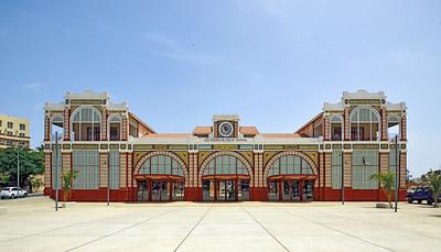 Old Railway Station in Senegal's capital Dakar, built in 1910