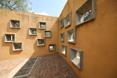 Centre de Santé et de Promotion Sociale in Laongo, Burkina Faso, next to the famous Opera village complex, both designed by Francis Kéré / Kéré Architecture (2014)