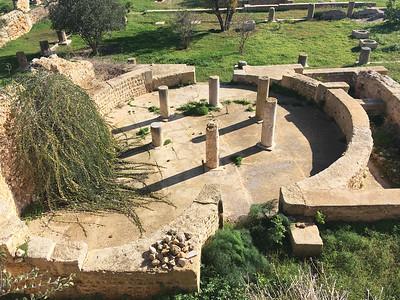 01 Ruinen einer römischen Villa, Karthago | Ruins of a Roman Villa, Carthage