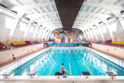 07 Swema Schwimmbad, Sumy, Oblast Sumy. Künstler: Unbekannt | Swema Swimming Pool, Shostka, Sumy Oblast. Artists: unknown.⠀