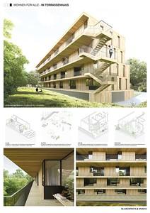 13 Baufeld 4, Terrassenhaus. Pläne 4 | Site 4, Terrassenhaus. Plans 4