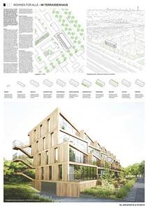 10 Baufeld 4, Terrassenhaus. Pläne 1 | Site 4, Terrassenhaus. Plans 1