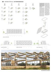 12 Baufeld 4, Terrassenhaus. Pläne 3 | Site 4, Terrassenhaus. Plans 3