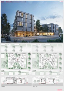 18 Baufeld 4, Max + Moritz. Pläne | Site 4, Max + Moritz. Plans