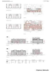 16 Baufeld 4, 3-Spänner. Pläne | Site 4, 3-Spänner. Plans