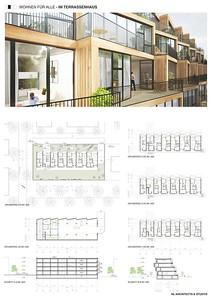 11 Baufeld 4, Terrassenhaus. Pläne 2 | Site 4, Terrassenhaus. Plans 2