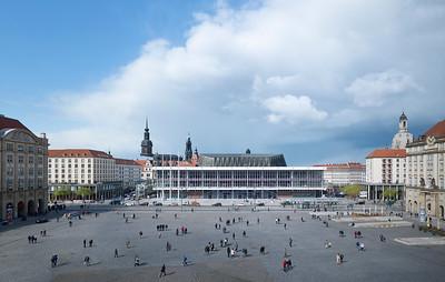 01  Preisträger | Award Winner: gmp Architekten von Gerkan Marg und Partner. Modernisierung, Umbau Kulturpalast, Dresden | Reconstruction and renovation of the Kulturpalast, Dresden.