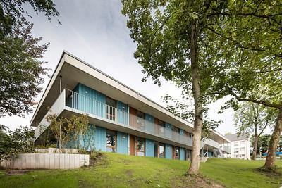 21 Shortlist: RKW Architektur+. Neubau Notunterkunft, Essen | Newbuild emergency accommodation, Essen.