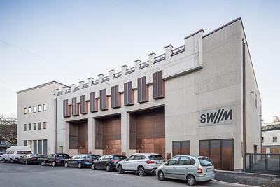 16 Shortlist: Hild und K Architekten. Umspannwerk Schwabing, München | Schwabing tansformer substation, Munich.