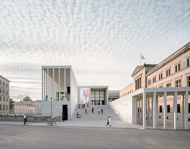 01 Preisträger | Prize Winner: David Chipperfield Architects. James-Simon-Galerie, Berlin