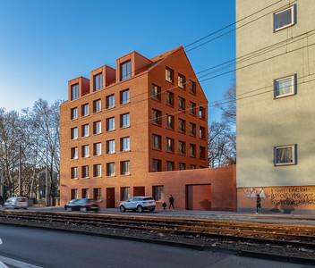 18 Shortlist: Stefan Forster Architekten. Haus Schloßstraße, Frankfurt am Main