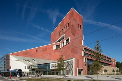 22 Ausland | International: Bolles+Wilson. BnL, Bibliothèque Nationale du Luxembourg, Luxemburg
