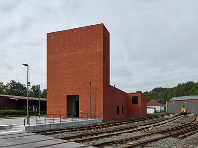 18 Shortlist: Max Dudler. Eisenbahnmuseum | Railway museum, Bochum