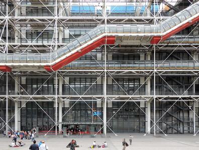 Renzo Piano, Richard: RogersCentre national d'art et de culture Georges-Pompidou, ParisFoto: Peter Krebs