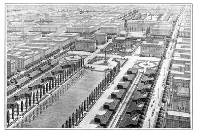 10 Otto Wagner, Projekt für den XXII. Wiener Gemeindebezirk, 1911
