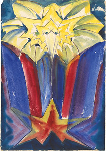 04 Hans Scharoun, expressionistische Skizze, um 1920