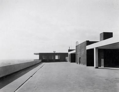 02 Victoria Nurses' Home: Das Flachdach wurde durch zwei Treppenhäuser erschlossen und in den heißen Sommernächten zum Schlafen genutzt.