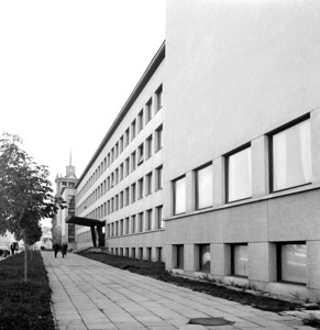 Institut für StädtebauUrban Construction Design InstitutePhoto: S. Zolma, 1967, LCVA, 1-14284