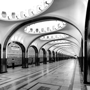 Moscow MetroImage: © DOM publishers