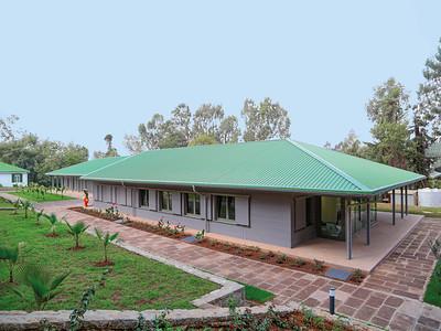 01 Deutsche Botschaft Addis Abeba (Äthiopien), provisorische Kanzlei und Visastelle, Entwurf: Brauns Architektur (2015).