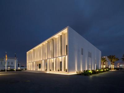 14 Deutsche Botschaft Maskat (Oman), Kanzlei und Residenz (2017). Architekten: Hoehler + alSalmy