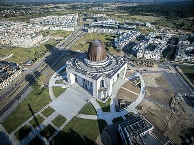 10. Tempel der Göttlichen Vorsehung | The Temple of Divine Providence, Warsaw. Architekt | architect: Wojciech Szymborski; Errichtet | construction dates: 2002-2016