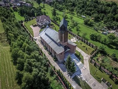 01. Sankt Anna Kirche | Church of St Anne, Myszków. Architekt | architect: Wiktor Baran; Errichtet | construction dates: 1986-1992.